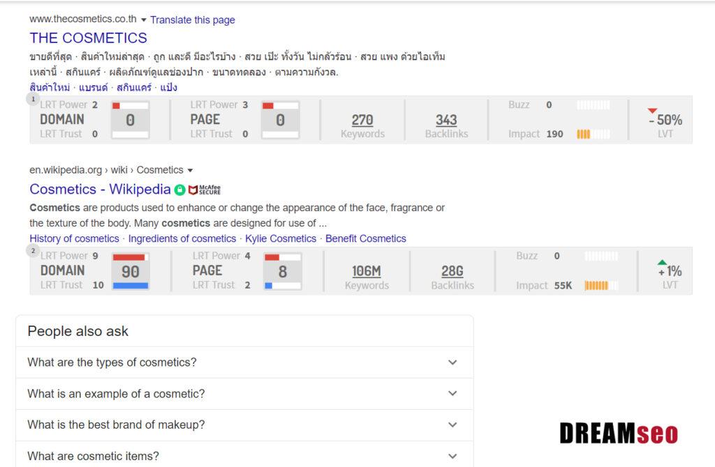 อันดับ seo บน Google